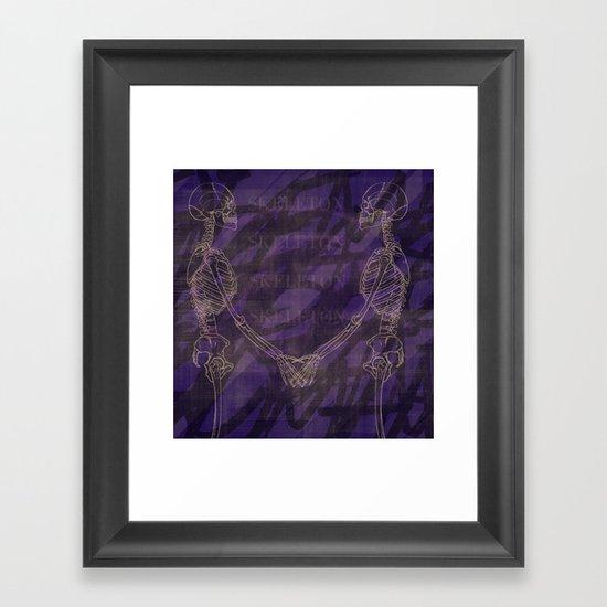 The Anatomy of Enchantment. Framed Art Print