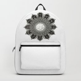 Astrology Signs Mandala Backpack