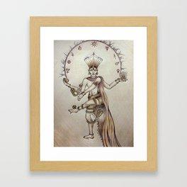 Om Namah Shivaya Framed Art Print