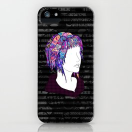 Introversion Dye iPhone Case