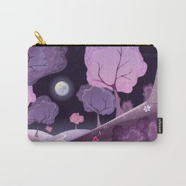Violet Moon Carry-All Pouch
