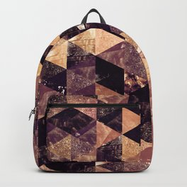 Abstract Geometric Background #3 Backpack