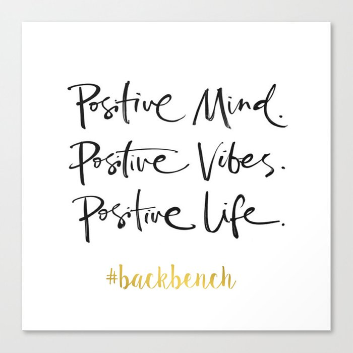 Printable Art Positive Mind Positive Vibes Positive Life Wall Art