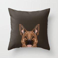 Skylar - German Shepherd gifts for dog people dog lover gifts german shepherd owners perfect gifts  Throw Pillow