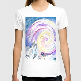 Color sweep T-shirt