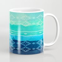 aelwen Mugs featuring ocean by spinL