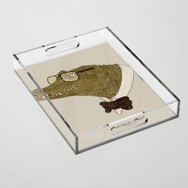 Spectacle(d) Caiman Acrylic Tray