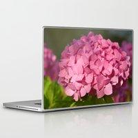 hydrangea Laptop & iPad Skins featuring Hydrangea by Susann Mielke
