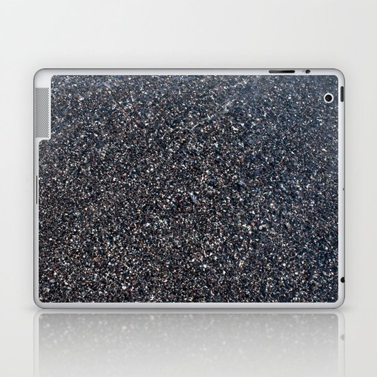 Black Sand I Laptop & iPad Skin