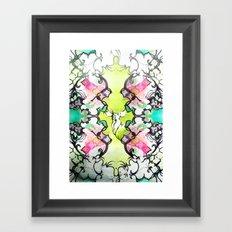 Kaleidoscope Deer Framed Art Print