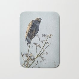 Red-Tailed Hawk, Rufous Morph Bath Mat