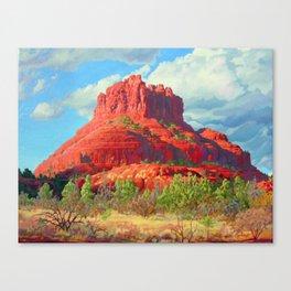 Big Bell Rock Sedona by Amanda Martinson Canvas Print
