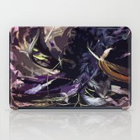 headdress iPad Cases featuring Feather Headdress  by TheBigBear