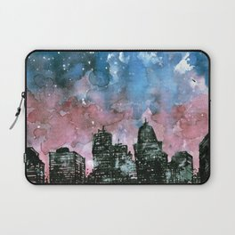 buildings architecture galaxy Laptop Sleeve