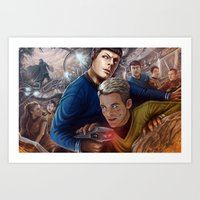 Out of the Rubble Art Print