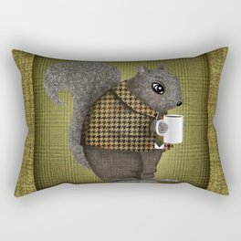 An Early Morning For Mister Squirrel Rectangular Pillow