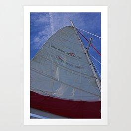 A Cayman Sail I Art Print