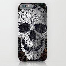 Doodle Skull iPhone 6 Slim Case
