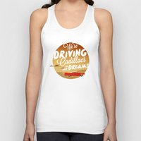 lorde Tank Tops featuring We're Driving Cadillacs In Our Dreams - Lorde: Royals  by Four & Thirty