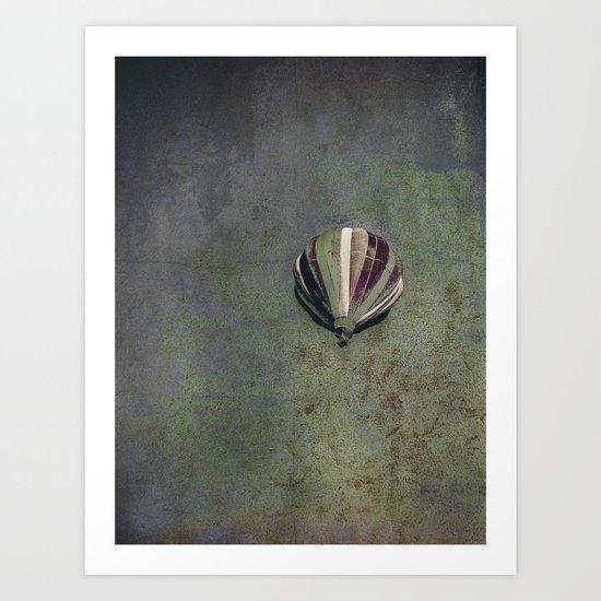 earth + sky Art Print