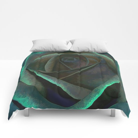 Northern Lights Rose Comforters