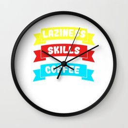 Awesome Expert Tshirt Design Expert in any field Wall Clock