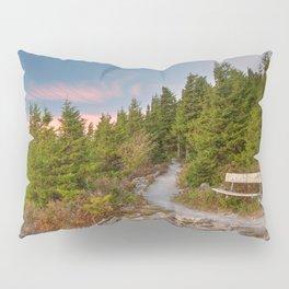 Spruce Knob Twilight Trail Pillow Sham