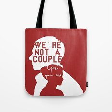 Not a couple Tote Bag
