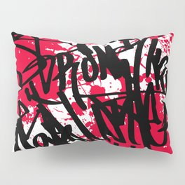 Graffiti Pillow Sham