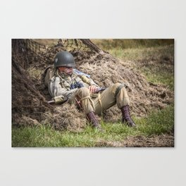 Time out. Canvas Print
