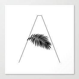Palm A Canvas Print
