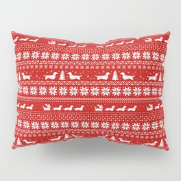 Love Joy Peace Wiener Dogs Pillow Sham