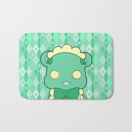 Monochromatic Kuma Lulu Bath Mat