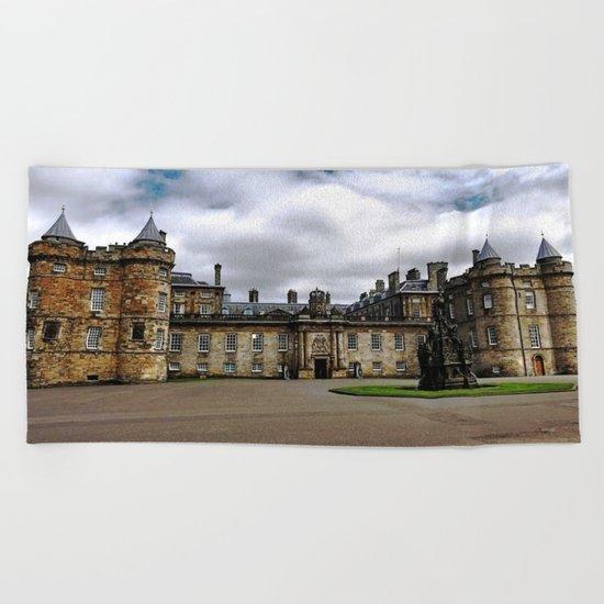 Holyrood Palace - Edinburgh United, Kingdom - Scotland Beach Towel