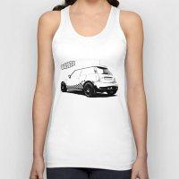 mini cooper Tank Tops featuring Hartge Mini Cooper S by zero2sixty