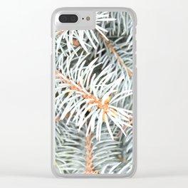 Tree | Trees | Silver Spruce | Ontario, Canada | Nadia Bonello Clear iPhone Case