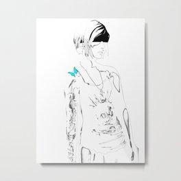 Chloe Price - Transparent - Life is Strange Metal Print