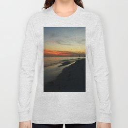 Evening Redness Long Sleeve T-shirt
