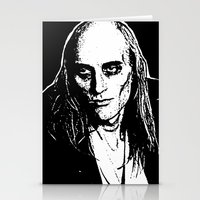 rocky horror picture show Stationery Cards featuring Riff Raff (Rocky Horror Picture Show) by Blake Lee Ferguson
