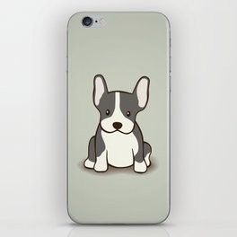French Bulldog Dog Illustration iPhone Skin