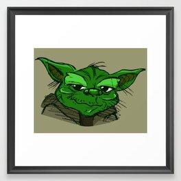 Yoda Framed Art Print