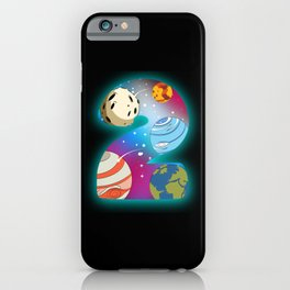 SPACE BIRTHDAY 2 2nd Birthday Toddler 2 Year Old iPhone Case