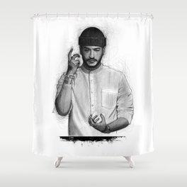 Slimane The Voice Shower Curtain