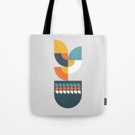Geometric Plant 01 Tote Bag