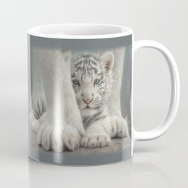 White Tiger Cub - Sheltered Coffee Mug