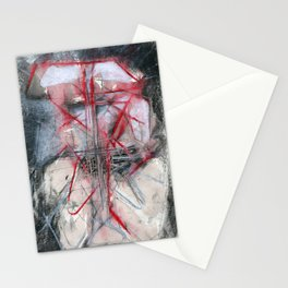 palimpsest II Stationery Cards