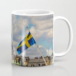 Stockholm and the Swedish Flag Coffee Mug