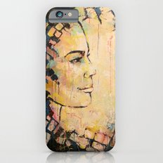 Looking to the Future -beautiful woman iPhone 6s Slim Case