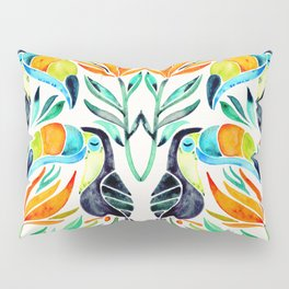 Tropical Toucans Pillow Sham