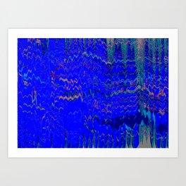 Ocean Mars Art Print